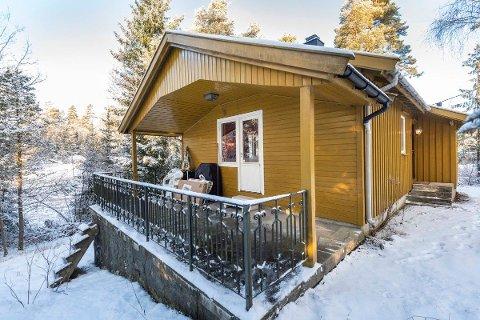 Solgt etter få dager: Denne hytta, med en prisantydning på 1 700 000 kroner, ble solgt etter kun få dager på markedet.