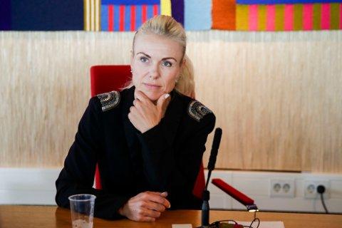 BLIR BEDRE: Selv om situasjonen fortsatt anses som sårbar, så går utviklingen i riktig retning. Det mener Kommuneoverlege Kerstin Anine Johnsen Myhrvold.