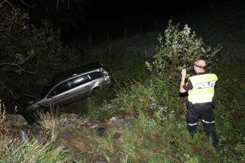 KJØRTE AV VEIEN: I Follo tingrett sa kvinnen at det ikke ga mening at hun skulle ha kjørt i påvirket tilstand; det hadde hun aldri gjort før.