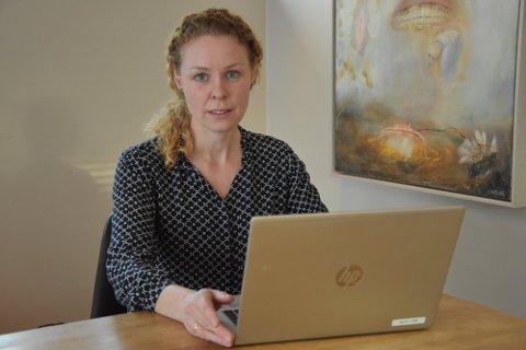 NYE TILFELLER: Konstituert kommuneoverlege Monica Viksaas Biermann melder om nye tilfeller av mutert virus i Nordre Follo.