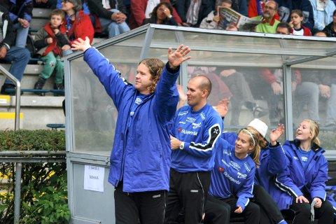 HØYDEPUNKT: Aksel Bergo på Stadion am Brentanobad i Frankfurt i 2006. Kolbotn sto for en liten bragd da de slo ut stjernegalleriet til 1. FFC Frankfurt i kvartfinalen i Champions League.