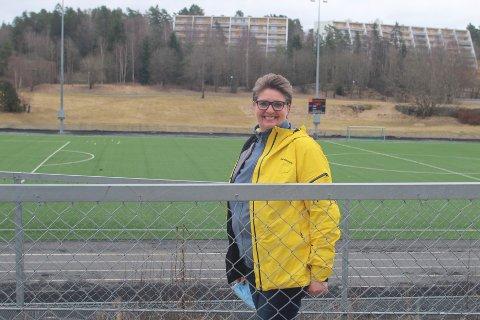 GOD PLAN: Ordfører i Nordre Follo, Hanne Opdan, synes modellen som er lagt frem av idretten på Langhus og Norgesgruppen, er meget god.