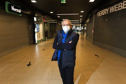 SLITER: J. Kristian Bjerke mener det er viktig at utbetalingen av koronastøtten skjer raskest mulig. - Nå er det viktig at vi støtter dem, mener han