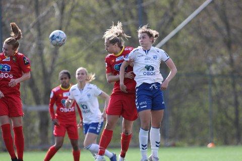 SCORET TO: Julie Hoff Klæboe scoret to ganger de siste 45 minuttene mot Røa.