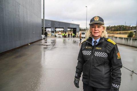 FØLG MED: Politimester Ida Melbo Øystese har tidligere denne uken uttrykt bekymring for russen og bedt foreldre om å følge med.