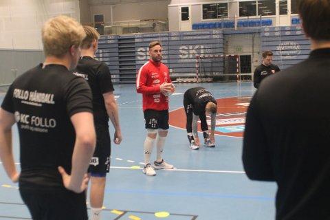 SPILLER IKKE: Spillende trener Martin Lysdal Hansen spiller ikke den siste kvalifiseringskampen mot Sandefjord.
