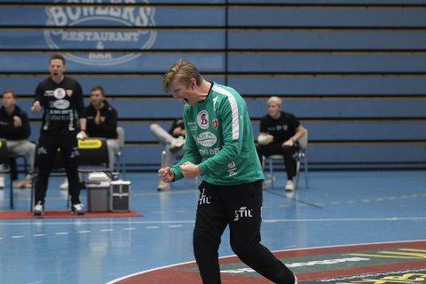 KAN JUBLE: Andreas Björkman Myhr og Follo HK får sjansen til å spille om opprykk.