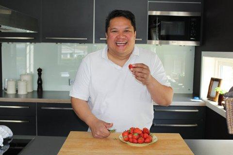 KRITISERT: Kokken får gjennomgå etter han kritiserte mat fra hjemlandet.