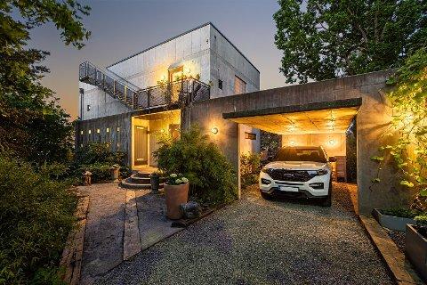STOR INTERESSE: Det var stor interesse og mange budgivere da dette exit-huset ble solgt på Nesodden.
