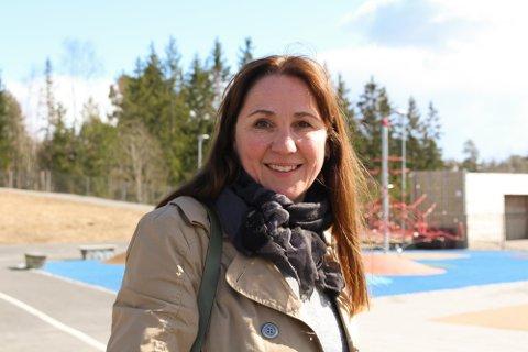 VELFORTJENT: Katti Anker Teisberg understreker at det er liten tvil om at årets sommerferie er velfortjent for alle i skolen.