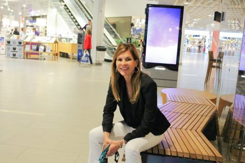 SLUTTER: Jeg kommer til å savne mitt team, butikkansatte og kunder, sier senterleder på Vinterbro, Elisabeth Lohk.