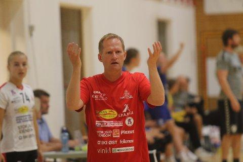 IKKE NOE STRESS: Bendik Berg fikk se laget sitt tape to og vinne en av kampene i Follo Cup i helgen..