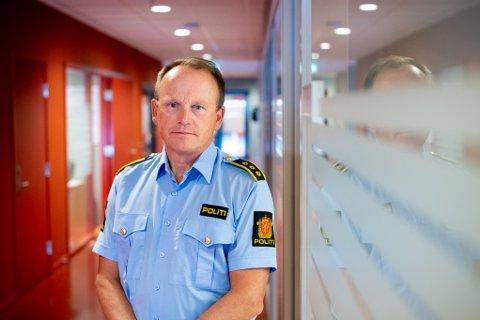 KRAFTIG ADVARSEL: Bjørn Bratteng, seksjonsleder etterforskning i Lillestrøm politistasjonsdistrikt forteller at dette dessverre ikke er et unikt tilfelle.