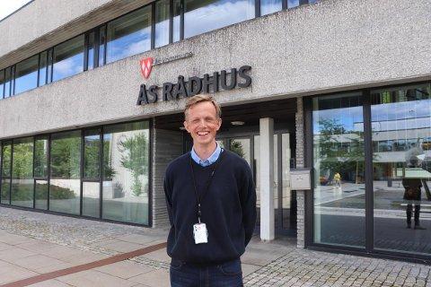 SPENT: Ådne Dæhlin jobbet som kommuneoverlege i Lindesnes da covid 19-pandemien kom til Norge. Nå tar han over samme stilling i Ås kommune.