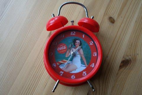 NOSTALGI I SIKTE: Denne vekkerklokka kan, uten kostnad, bli din.