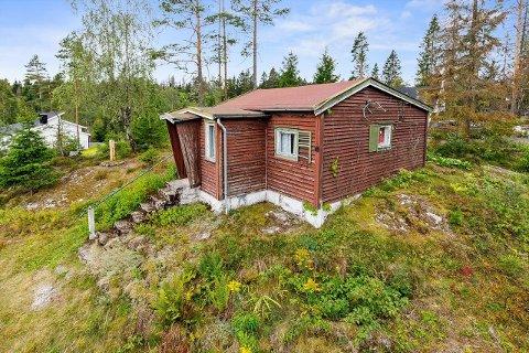 UBEBODD: Eiendommen på 1.8 mål ligger sentralt men landlig til mellom Siggerud og Ski.