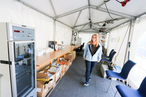 ENDRINGER I TILBUDET: Avdelingsleder Lene Svendsen forteller mer om hvordan det nye tilbudet nå skal bli.