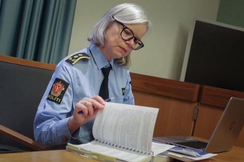 INTENS JAKT: Politiadvokat Nina Marthinsen hos Øst politidistrikt forteller om en intens jakt på fakta i drapssaken på Kolbotn