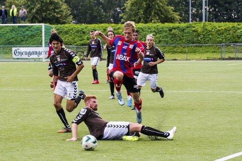 I TRONDHEIM: Alexander Betten Hansen prøvespiller for Rosenborg denne uka, etter at trønderne tok kontakt. 19-åringen er klar hvis de er interessert, men ser det først og fremst som ei lærerik treningsuke. Arkivfoto