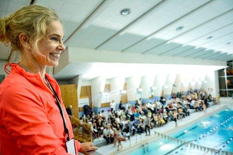 ENGASJERT: – De fleste drukningsulykker kan unngås ved riktig opplæring og derfor er det så viktig å prioritere dette. Det blir ikke mindre viktig i en kommune som Larvik med vann på nesten alle kanter, sier Birgitte Gulla Løken.