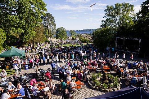 Sankthansfeiring Tollerodden. Sankthans. Foto: Sigrid Ringnes