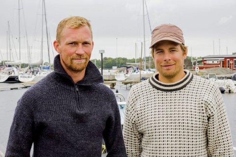 Ekstremfolk: Stian Aker (35) og Rune Malterud (34) lever et mer ekstremt liv enn de fleste. Neste sommer skal barndomsvennene ro over Atlanterhavet. foto: Jonas Gran thorstein