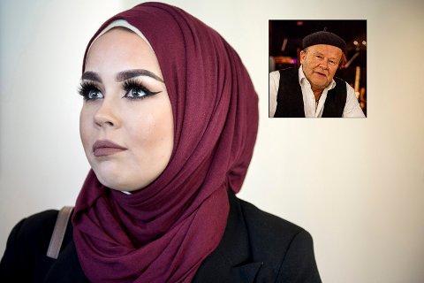 Malika Bayan kommer til debatten i Sliperiet mandag kveld.