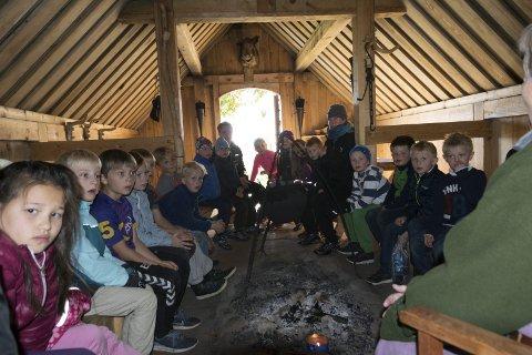 Historie: Vikingtiden byr på mange historier som kan fortelles rundt et ildsted.