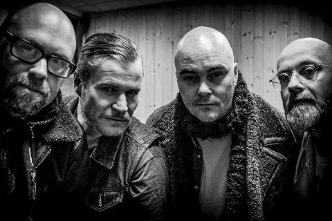 Gjørmebryterne: Anders Buaas, Pål Tolstrup, Are Gogstad og Claus Heiberg.
