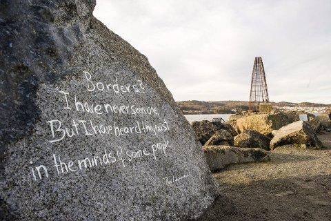 Grenseløst: Ideen om Poesiparken sprer seg nå fra Larvik til Frederikshavn, og kanskje til både svenske og tyske vennskapsbyer.arkivfoto