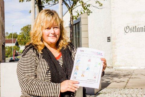TILTAK: Ann-Kristin Aanstad, leder i Larvik Idrettsråd, mener kommunen må bevilge mer penger.