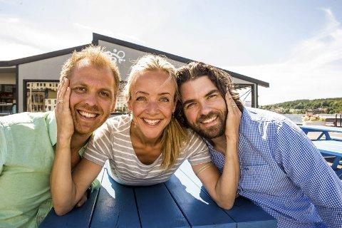 Jannike Kruse er glad for å være sammen med to bla Gjønnes Tvedten når de debuterer på Pakkhuset 11. juli. Foto: Nils-Erik Kvamme