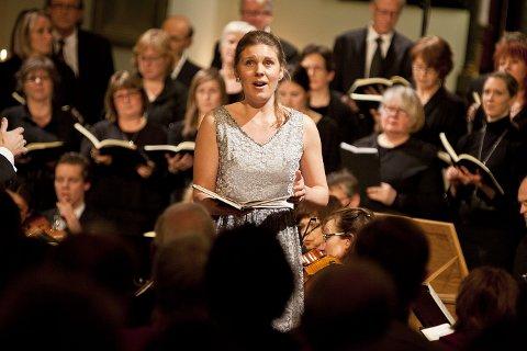 Hjemme: Marianne Folkestad Jahren kommer hjem til Larvik for å synge på Sanden søndag kveld.arkivfoto
