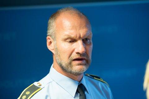 Arresterte mann i sentrum: Krimsjef Knut Vidar Vittersø opplyser at 54-åringen er siktet for en seksuell handling mot barn. Arkivfoto