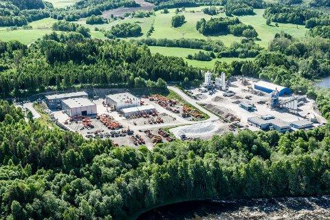 Flyfoto over Bommestadmoa fra mai 2014