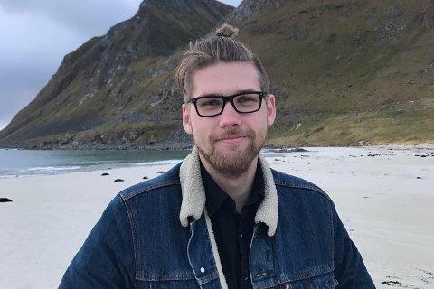 NEKTET INNREISE: Vebjørn Bredvei Steinsholt (24) fra Lardal skulle lære om konflikten i Vest-Sahara da han ble nektet innreise i landet.