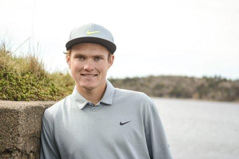 ANDREPLASS: Andreas Halvorsen var bare et omspill unna sin første proffseier.