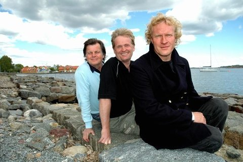 TILBAKE: Sven Nordin har flere ganger vært skuespiller i Stavern. Her sammen med Anders Hatlo og Johannes Joner. (Arkivfoto)