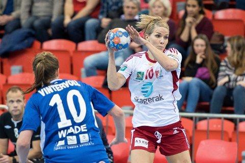 Legger opp: Gro Hammerseng-Edin legger opp etter sesongen, akkurat som kona Anja.