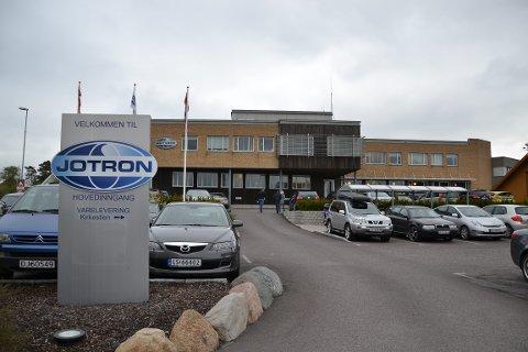 Oktober 2007 flyttet Jotron AS inn i nye lokaler på Tjøllingvollen. Nå er lokalene for små, samtidig som man ønsker å samlokalisere de to Vestfoldkontorerne.