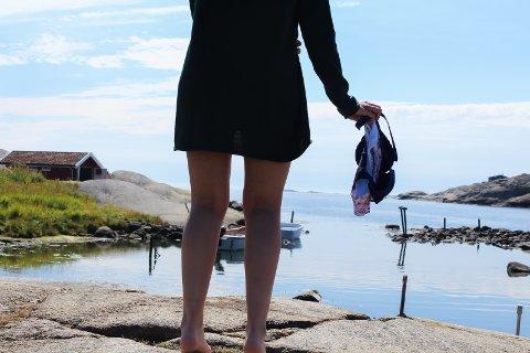 KROPPSKOMPLEKSER: Sommeren er høytid for kroppskomplekser. En ufin kommentar kan gjøre det verre. arkivfoto