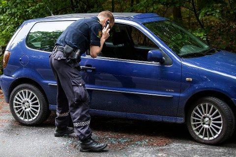 TYVERI: Flere har observert mistenkelige personer i Larvik. – Vær en god nabo, sier Krimsjef Knut Vidar Vittersø.