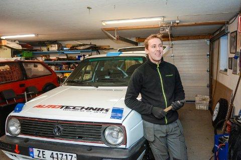 VANT: Ingen kunne tukte Anders Kjær under Rally Konsmo.