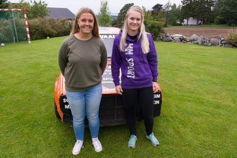 INGEN FORHÅPNINGER: Marlene Sundet (18) og Marte Marthinsen (22) hadde ingen forhåpninger i forkant av landsfinalen. Allikevel endte de med en 18. og en 99. plassering av totalt 130 startende.