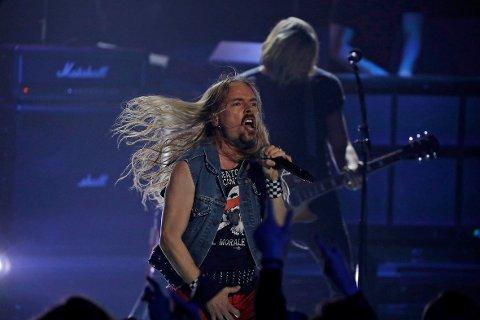 FAVORITT: Etter forrige helgs forrykende Iron Maiden-show, er Ole Børud nå folkets favoritt til å stikke av med seieren.