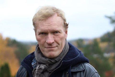 WILLIAM WISTING: Sven Nordin spiller hovedrollen i den kommende storserien, Wisting. Nordin vil entre TV-skjermen som William Wisting våren 2019.