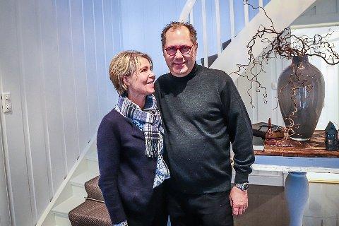 MYE SLIT: Men i dag er ekteparet Kristine Breiland Dalby fra Sandefjord og Anders Kristoffer Dalby fra Holmestrand glad for valget om å kjøpe Aspargesgården i Tjølling.