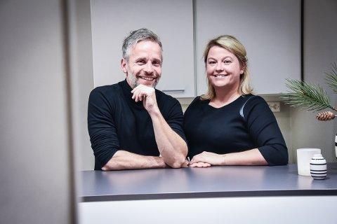 GODT TEAM: Advokat Renathe Danielsen og psykolog Daniel Jonsson, startet i fjor Godtsamarbeid.no. Det har gitt resultater.