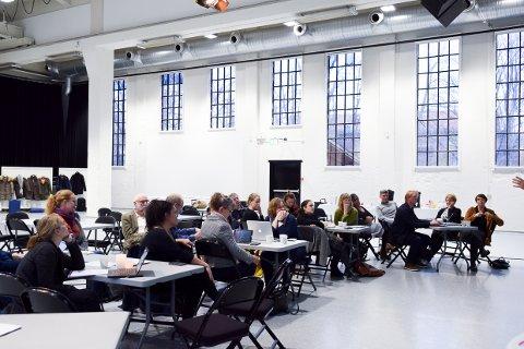 NORDISK: Kultuskoleledere og forskere fra tre skandinaviske land var samlet i Sliperiet denne uken.