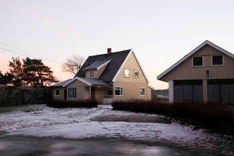 100 ÅR ETTER: Eiendommen som fikk navnet Skogstua ble etablert i 1918 og huset sto førte gang ferdig i 1923. I november ble den solgt for 12 millioner kroner.